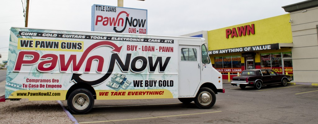 Pawn Now Indian School road pawn shop in East Phoenix