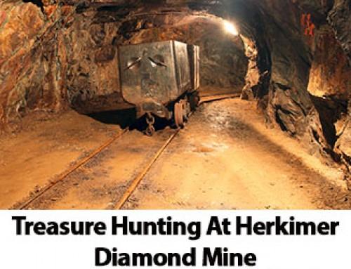 Treasure Hunting At Herkimer Diamond Mine