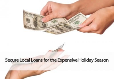 Secure loans for holiday season.