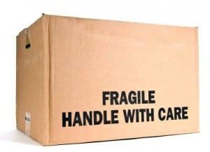 moving fragile valuables