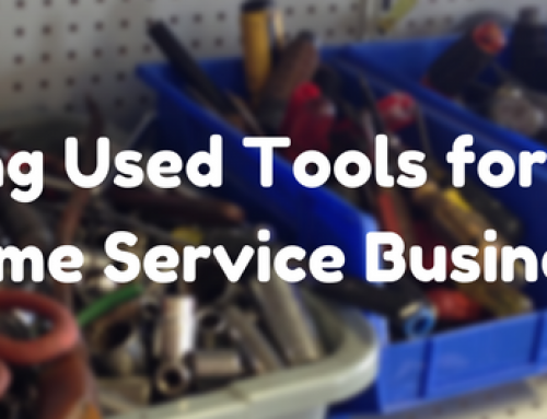 Buying Used Tools for Your Home Service Business